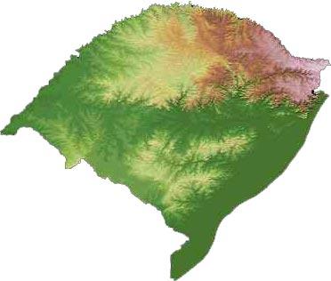 ... Guia Geográfico - Brasil Turismo. Rodovias e hidrografia do estado