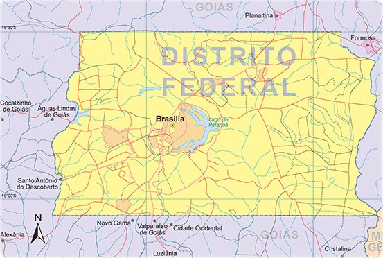 DISTRITO FEDERAL MAPA PDF DOWNLOAD