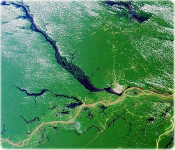 Rio Amazônas e Rio Negro