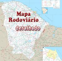 Mapa Cear Fortaleza